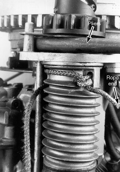 1972 johnson 6hp rewind starter rope broke page 1 for How to service johnson outboard motor